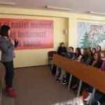 Podpredsedníčka NRSR na našej škole