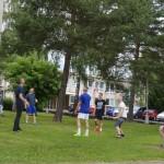 Voľná chvíľa s volejbalovou loptou